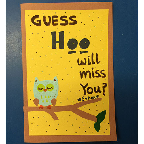 cute farewell handmade greeting cards at best price in